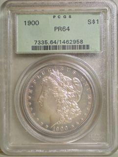 1900 Morgan Dollar PR-64 Obv
